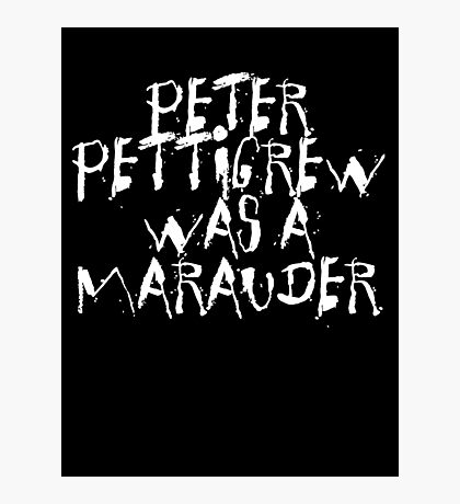 Peter Pettigrew 2. Photographic Print