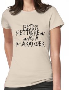 Peter Pettigrew Womens Fitted T-Shirt