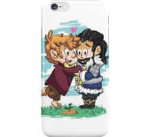 Watching their trees growing, together. iPhone Case/Skin