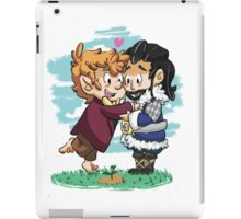 Watching their trees growing, together. iPad Case/Skin