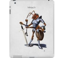 Soldiering On iPad Case/Skin