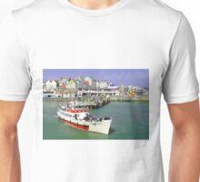 Yorkshire Belle Turning in Bridlington Harbour Unisex T-Shirt