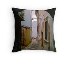 Malcesine (Lake Garda, Italy) Throw Pillow
