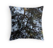 Coniferous Canopy Throw Pillow