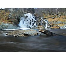 Allt Mor - The Big Waterfall Photographic Print