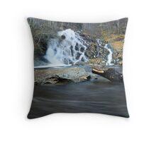 Allt Mor - The Big Waterfall Throw Pillow