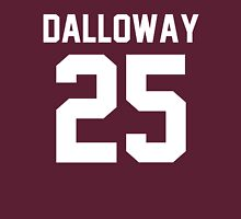 "Clarissa Dalloway ""25"" Jersey Unisex T-Shirt"