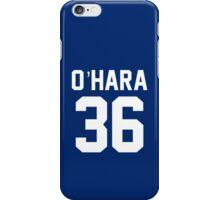 """Scarlett O'Hara """"36"""" Jersey iPhone Case/Skin"""