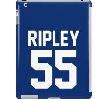 "Tom Ripley ""55"" Jersey iPad Case/Skin"