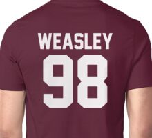 "Ron Weasley ""98"" Jersey Unisex T-Shirt"