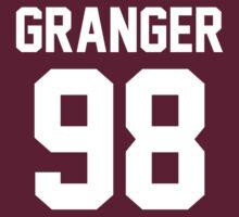 "Hermoine Granger ""98"" Jersey by ShirtAutonomy"