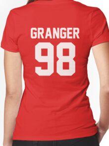 """Hermoine Granger """"98"""" Jersey Women's Fitted V-Neck T-Shirt"""