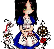alice liddell by rosawithlie