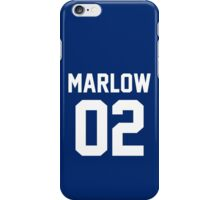 "Charlie Marlow ""02"" Jersey iPhone Case/Skin"