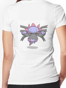 OMG!! SOOOOO CUTE HYDREIGON Women's Fitted V-Neck T-Shirt