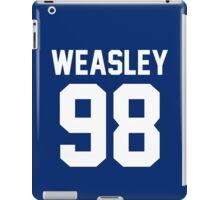 """Ron Weasley """"98"""" Jersey iPad Case/Skin"""