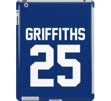 """Clyde Griffiths """"25"""" Jersey iPad Case/Skin"""