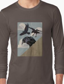 Crow invasion Long Sleeve T-Shirt
