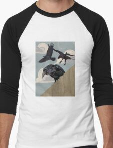 Crow invasion Men's Baseball ¾ T-Shirt