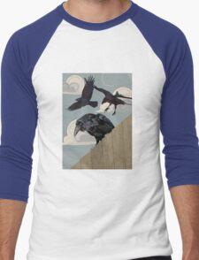 Crow invasion Men's Baseball ¾ T-Shirt