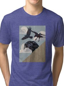 Crow invasion Tri-blend T-Shirt