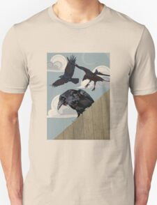 Crow invasion Unisex T-Shirt