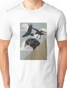Crow invasion Unisex T-Shirt