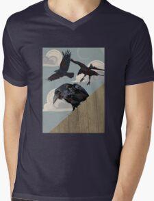Crow invasion Mens V-Neck T-Shirt