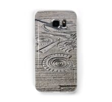Fossil Sculptures, Whitby East Pier Samsung Galaxy Case/Skin