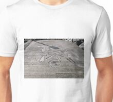 Fossil Sculptures, Whitby East Pier Unisex T-Shirt