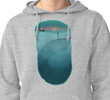Whale Watching * Pullover Hoodie