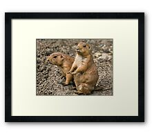 """I'm waiting for my manicure........."" Framed Print"