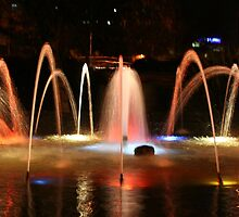 Carlisle Water Feature by Chris Rollason