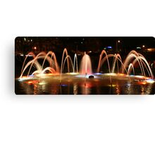 Carlisle Water Feature Canvas Print