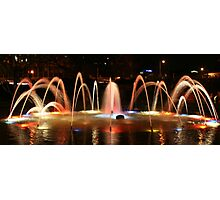 Carlisle Water Feature Photographic Print