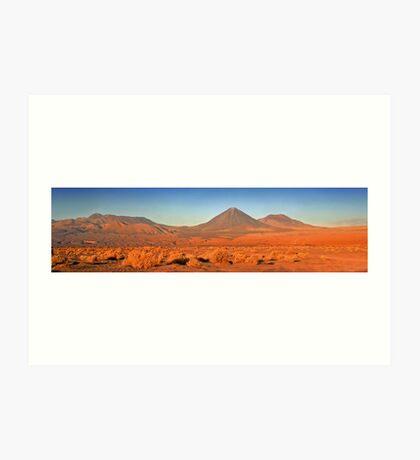 Atacama Sunset Art Print