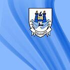 Up the Dubs (Dublin GAA football) Phone cover by Declan Carr
