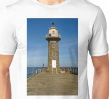 Disused East Pier Lighthouse, Whitby Unisex T-Shirt