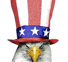 American Eagle by Julien Missaire