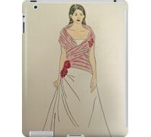 Wedding Dress No 2 iPad Case/Skin