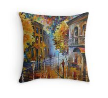 ETUDE IN RED limited edition giclee of L.AFREMOV painting Throw Pillow