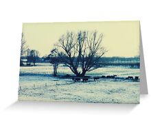 Winter - JUSTART © Greeting Card