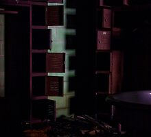 Looming Lockers by PolarityPhoto