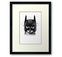 SuperCat! Framed Print