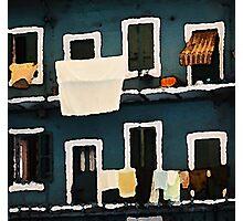 Casa di corte (impressionistic) Photographic Print