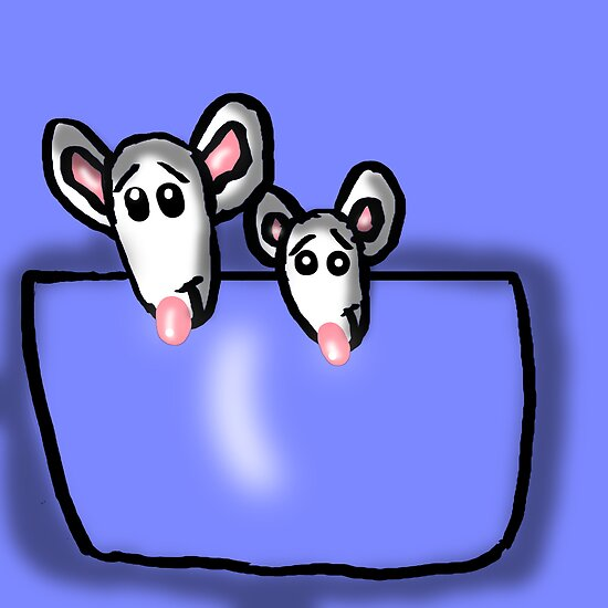 Pocket Mice Brothers by Rajee