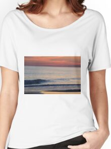 Sunset Wave Women's Relaxed Fit T-Shirt