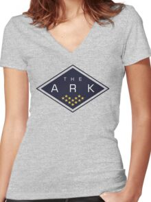 The Ark - The 100 Women's Fitted V-Neck T-Shirt