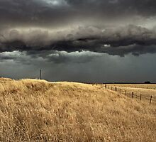 country storm clouds by Matthew Burniston