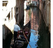 Gondola in Venice by MissCellaneous